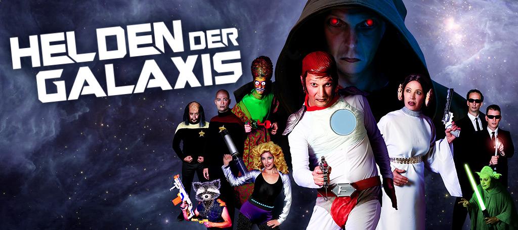 Das Vollplaybacktheater – Helden der Galaxis